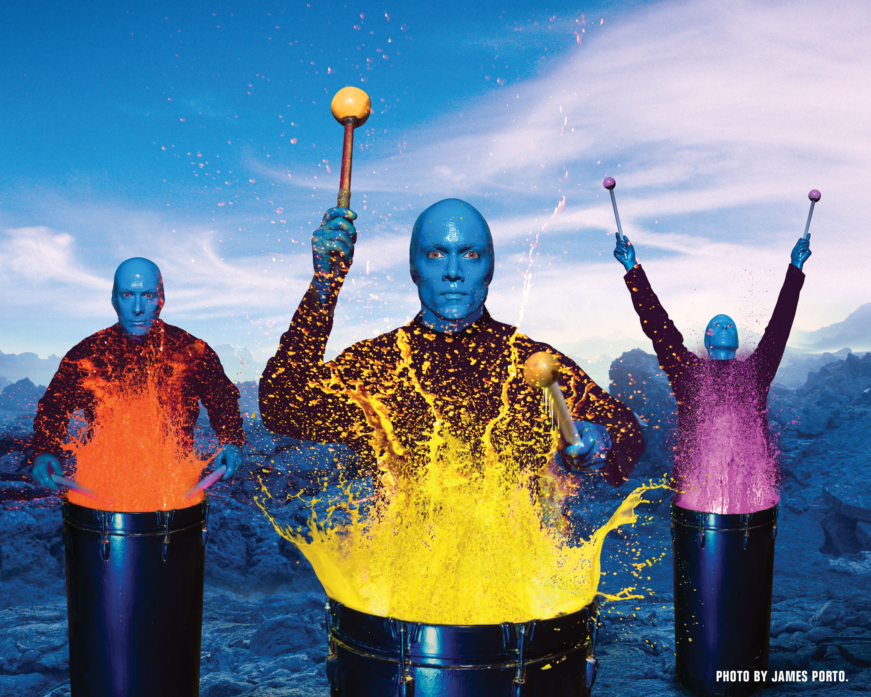 Blue Man Group Video 110